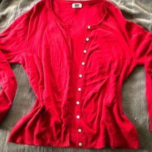 True Red cardigan size xl women's